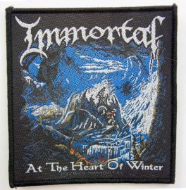 Immortal - 'At the Heart of Winter' Woven Patch